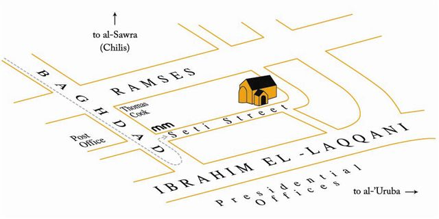 Heliopolis Community Church Map